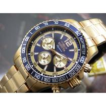 I N V I C T A Relógio Invicta Signature 7410 Plaque Ouro