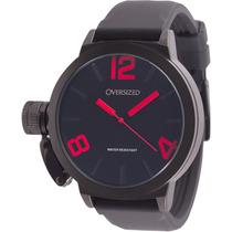 Relógio Masculino Esportivo Oversized Alpha 49mm (dark+red)