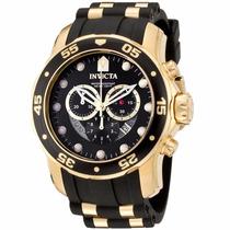 Relógio Invicta 6981 Pro Diver Ouro 18k Original Promoção