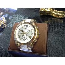 Relógio Mk Madre Pérola 1 Ano Garantia