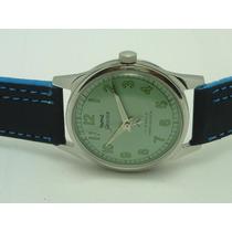 Genuíno Relógio De Pulso Hmt Militar 17 Rubis A Corda