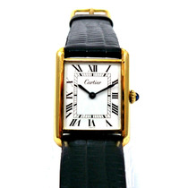Cartier Tank Classic - Gold Electroplated - Vintage