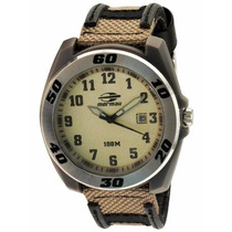 Relógio Masculino Mormaii 2115dr/8x Nylon Calendário Analog