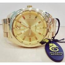 Relógio Original Atlantis Dourado Feminino