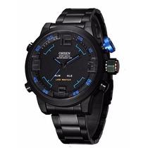 Relógio Masculino Analógico Digital Esportivo Militar Ohsen