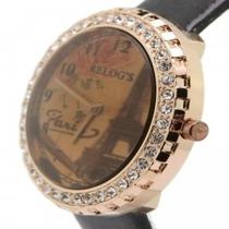 Relógio Paris Antigo ( Foto Do Exemplo Em Preto)