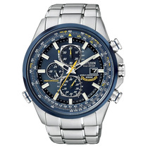 Lindo Relógio Citizen Eco-drive Blue Angels - At8020-54l