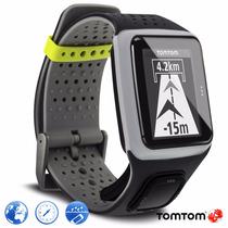 Relogio Tomtom Runner Preto E Cinza C/ Gps Bluetooth Smart