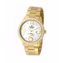 Relógio Champion Feminino Passion Dourada Ch24464h Original