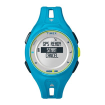Smart Watch Timex Ironman Run X20 Tw5k87600/ti - Azul