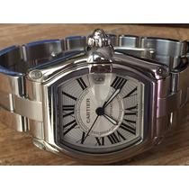 Relógio Cartier Roadster Alg. Romano