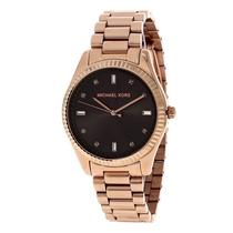 Relógio Luxo Michael Kors Mk3227 Orig Anal & Ouro Imaculado!