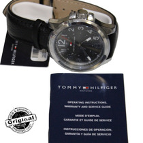 Relógio Masculino Tommy Hilfiger Original Pulseira Couro