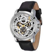Relógio Mondaine Masculino Grande Pul. Couro 76424g0mvnh1