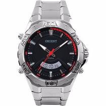 Relógio Masculino Orient Analógico Prata Mbssa046 Pvsx