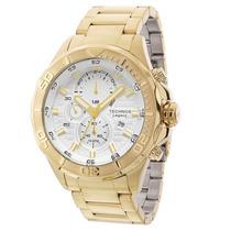 Relógio Technos Masculino Classic Legacy Dourado Js15az/4k