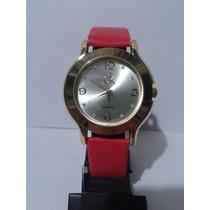Lindo Relógio Feminino Ck Calvin Klein Dourado Frete Grátis
