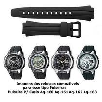 Pulseira P/ Casio Aq-160 Aq-161 Aq-162 Aq-163 Frete Grátis