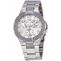 Relógio Guess Feminino Mod. I 14503 L1 Prata Original