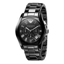 Relógio Emporio Armani Ar1400 Cerâmica Black Original