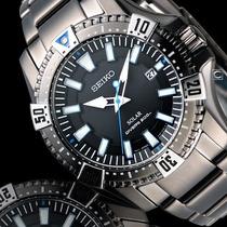 Seiko Solar Sne281p1 Divers Black 200mts - Frete Grátis!