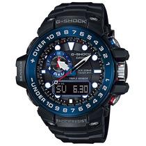 Relógio Casio G-shock Gulfmaster Modelo Gwn-1000b-1bdr