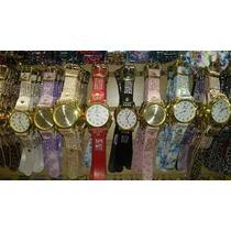 Kit Relógio Feminino Pulseira Couro Atacado/revenda Lote 10
