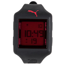 Relógio Puma Masculino Slide - L Black Red 96101g0panp