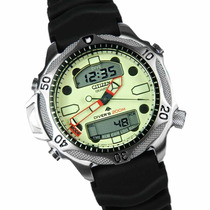 Citizen Aqualand Promaster Jp1010-00w Natulite 12 X S/ Juros