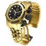 Invicta Bolt Zeus 12741 Banhado Ouro Original Lindo 12x S Ju