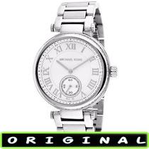 Relógio Michael Kors Mk5866 Branco 41mm Midsize Frete Gratis