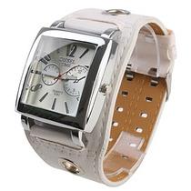 Relógio Feminino Fashion Girl. Lindo Relógio Bracelete Couro