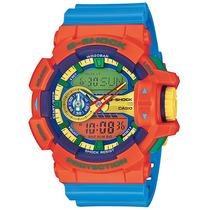Relógio Casio G-shock Ga-400 4ad H.mundial 5 Alarmes 200m C