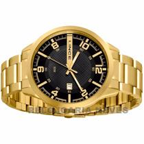 Relógio Lince Dourado Masculino (orient) Mgr4271s Wr 50 M --