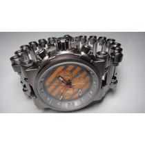 Relógio Oakl. Masculino Hollow Point + Brinde