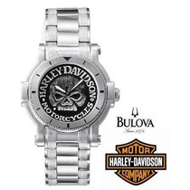 Relógio Masculino Harley-davidson By Bulova 76a11