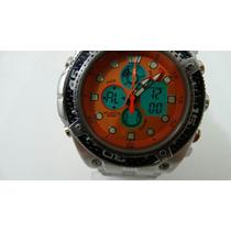 Relógio Atlantis Mod. G3088 Aqualand Pronta Entrega