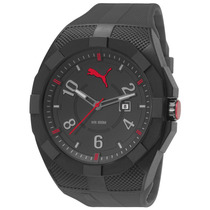 Relógio Masculino Puma - Pulseira De Borracha - 96220gppmpp1