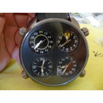 Relógio Ferrari 4 Mostradores Lacoste Diesel Oakley Tommy