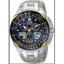 Relógio Citizen Eco Drive Skyhawk Blue Angels Jr3090-58m