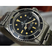 Rolex Submariner 1680 Red De 1974 Lindo E Raro 100% Original