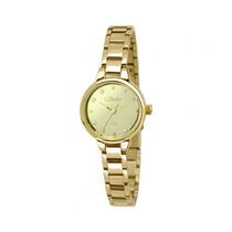 Relógio Condor Dourado Feminino Pequeno Co2035klk/4v