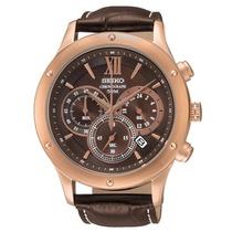 Relógio Seiko Vk63af/0b Calendário Cronógrafo Nf-e Novo