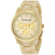 Relogio Michael Kors Madre Perola Oversized Mk 5039 43mm