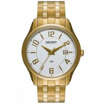 Relógio Orient Mgss1076 S2kx Masculino Dourado - Refinado