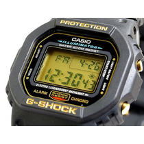 Relógio Casio G Shock Dw-5600eg-9vq Serie Ouro - Dw5600