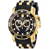 Invicta 6981 Pro Diver Collection Chronograph Black Dial