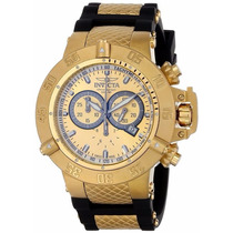 Relógio Masculino Subaqua Dourado