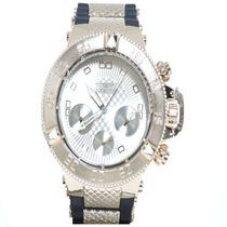 Relógio Grande Masculino De Pulso Marca De Luxo Dourado