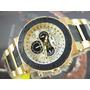 I N V I C T A Relógio Invicta Reserve Plaque Ouro 6777